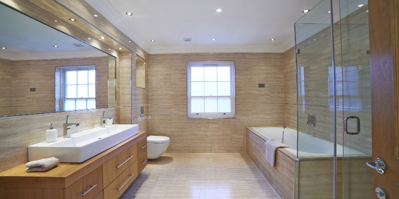 Bathroom Flooring in Mooresville, North Carolina